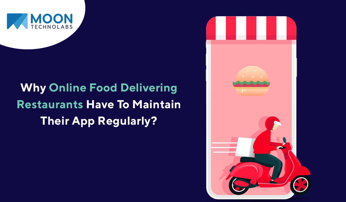 online restaurant and food delivering app