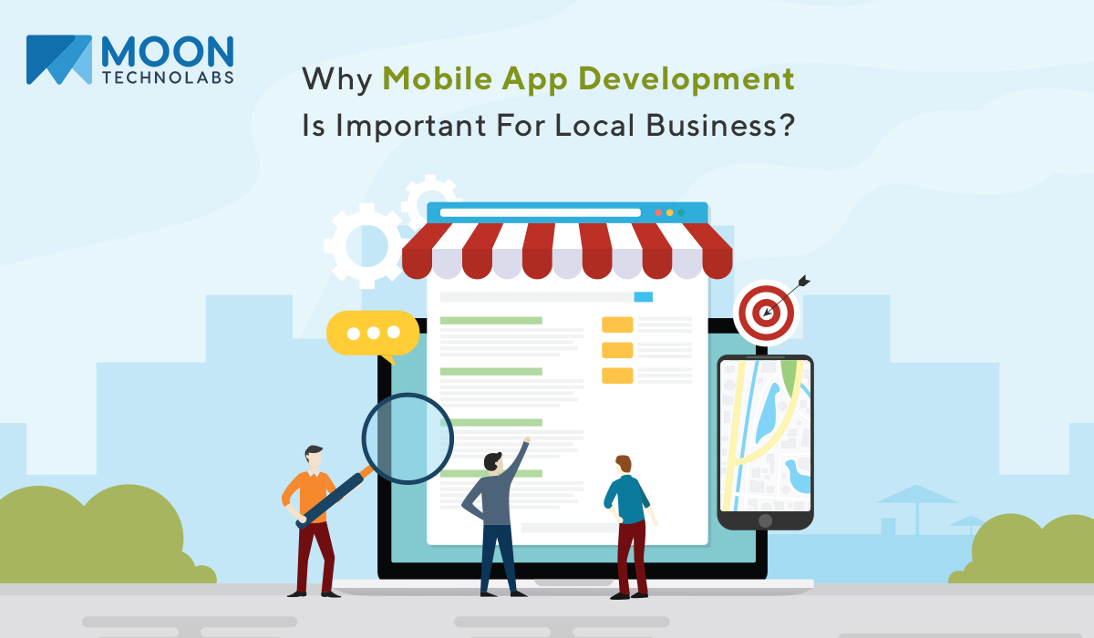mobile app development for local business