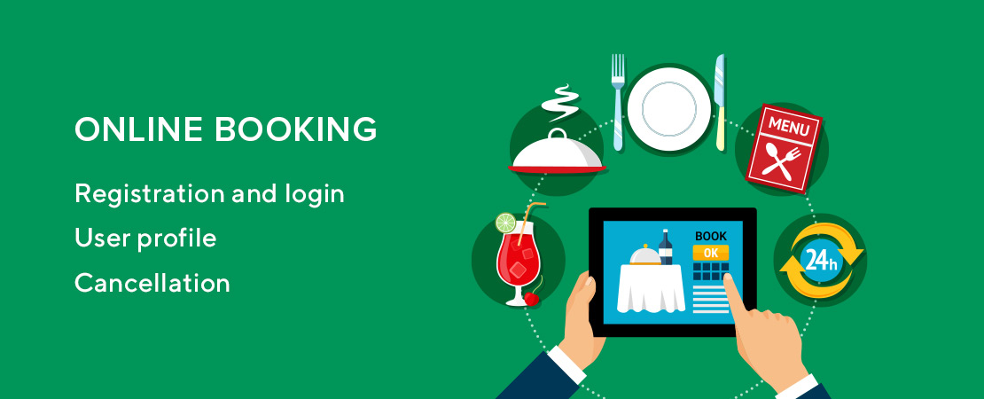 online booking for restaurant