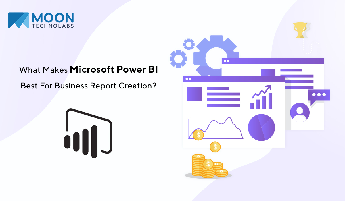 use Microsoft Power BI best for business report